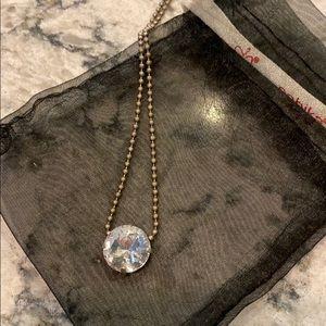 Sabika one-stone necklace